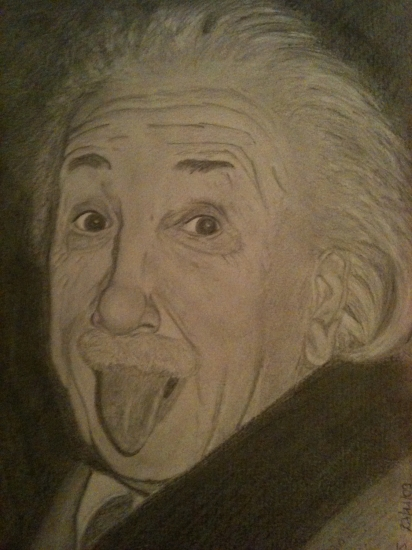 Albert Einstein by julianne60